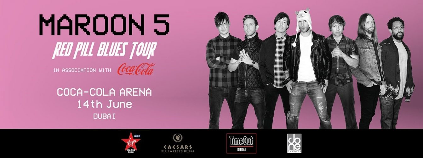 Maroon 5 Live at Coca-Cola Arena - Coming Soon in UAE, comingsoon.ae
