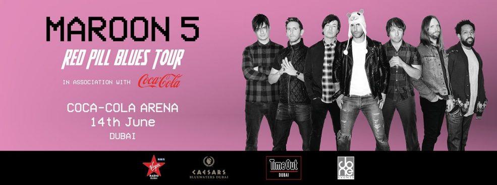 Maroon 5 Live at Coca-Cola Arena - Coming Soon in UAE, comingsoon.ae