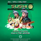All You Can Eat Sushi - Coming Soon in UAE