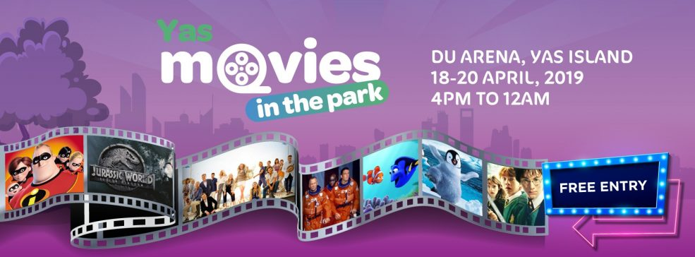 Yas Movies in the Park - Coming Soon in UAE, comingsoon.ae