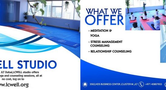 Free Meditation and Counselling Sessions at LC Well Jumeirah Lakes Towers - comingsoon.ae