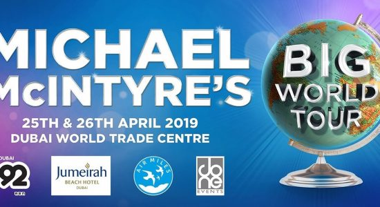 Michael McIntyre's Big World Tour Comedy Show - comingsoon.ae
