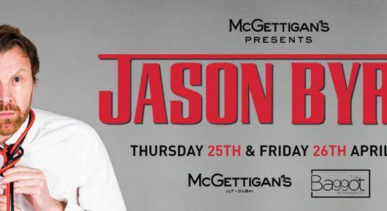 Jason Byrne at McGettigan's - comingsoon.ae