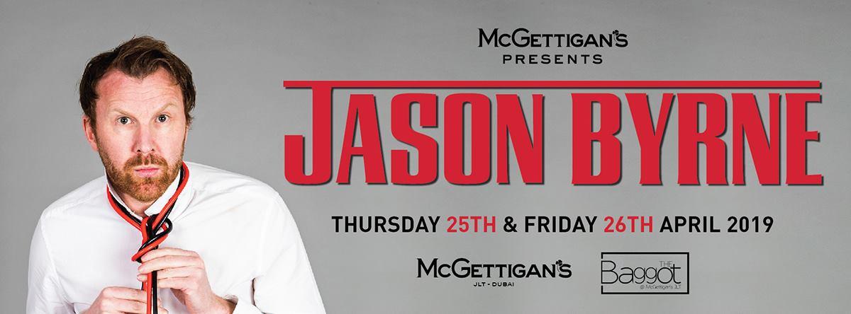 Jason Byrne at McGettigan's - Coming Soon in UAE, comingsoon.ae