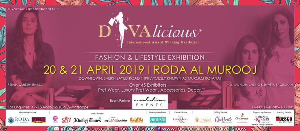 DIVAlicious Fashion Exhibition - Coming Soon in UAE, comingsoon.ae