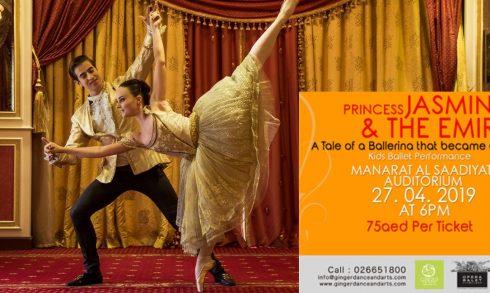 Princess Jasmine and The Emir Ballet - Coming Soon in UAE, comingsoon.ae