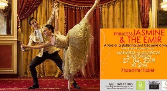 Princess Jasmine and The Emir Ballet - comingsoon.ae