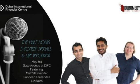 The Half Hours: 3 Comedy Specials And Live Recording - Coming Soon in UAE, comingsoon.ae