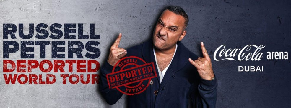 Russell Peters Comedy Show at Coca-Cola Arena - Coming Soon in UAE, comingsoon.ae
