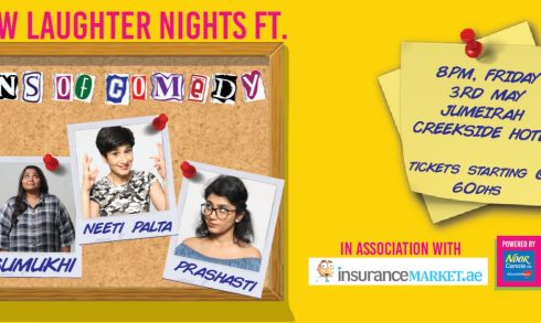 Front Row Laughter Nights ft Queens of Comedy - Coming Soon in UAE, comingsoon.ae