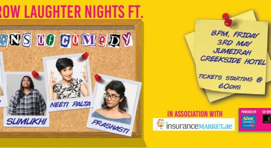 Front Row Laughter Nights ft Queens of Comedy - comingsoon.ae