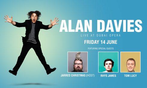 Alan Davies Comedy Show - Coming Soon in UAE, comingsoon.ae