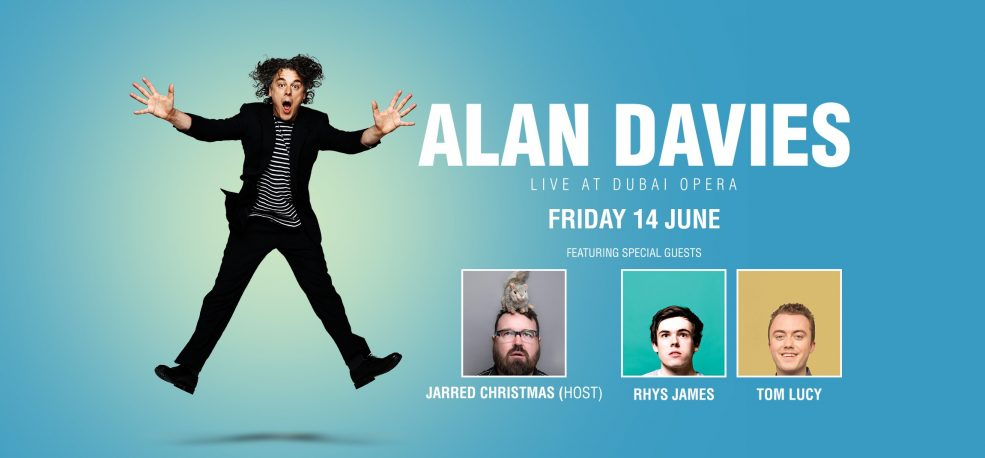 Alan Davies Comedy Show - Coming Soon in UAE, comingsoon.ae