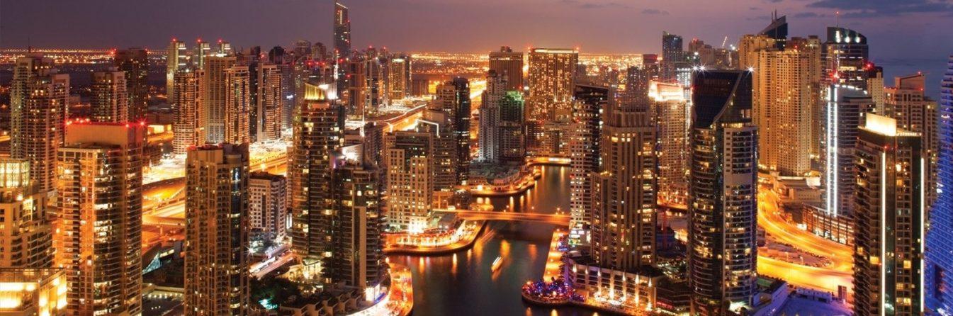 Dubai Marina — the city district of the future