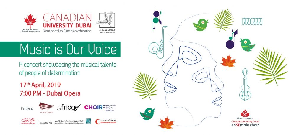 Music Is Our Voice Concert - Coming Soon in UAE, comingsoon.ae
