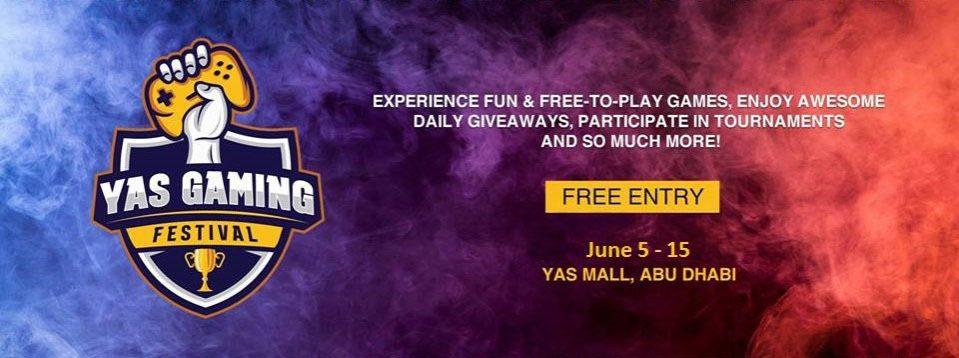 Yas Gaming Festival 2019 - Coming Soon in UAE, comingsoon.ae