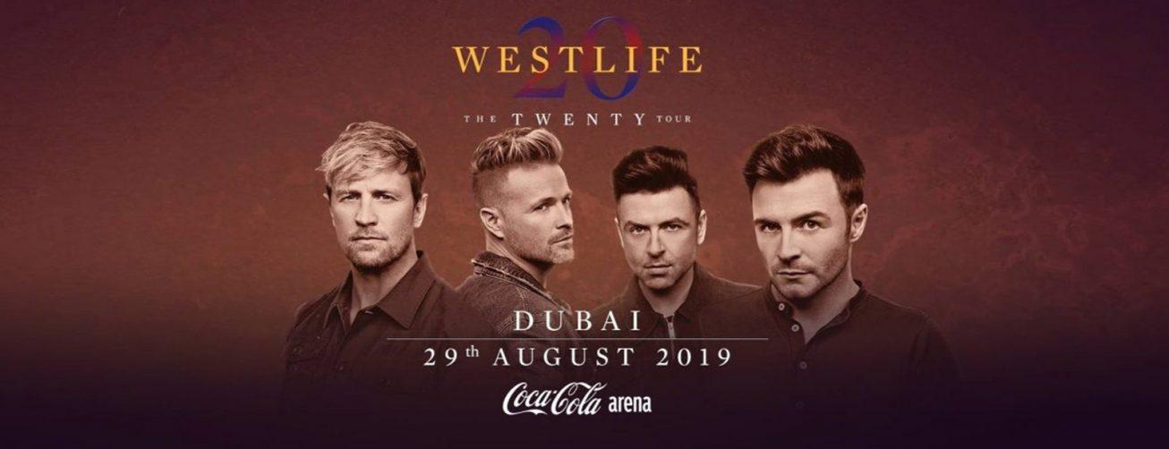 Westlife at Coca-Cola Arena - Coming Soon in UAE, comingsoon.ae