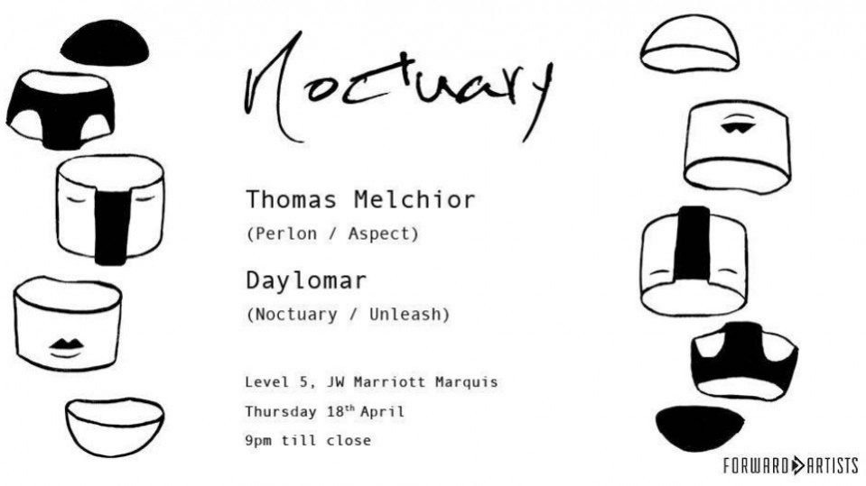 Noctuary Vol. VII: Thomas Melchior and Daylomar - Coming Soon in UAE, comingsoon.ae
