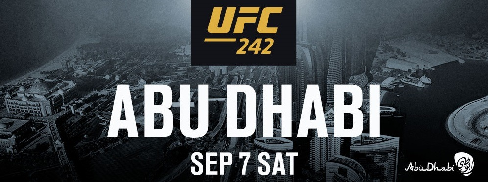 UFC 242 mixed martial arts event - Coming Soon in UAE