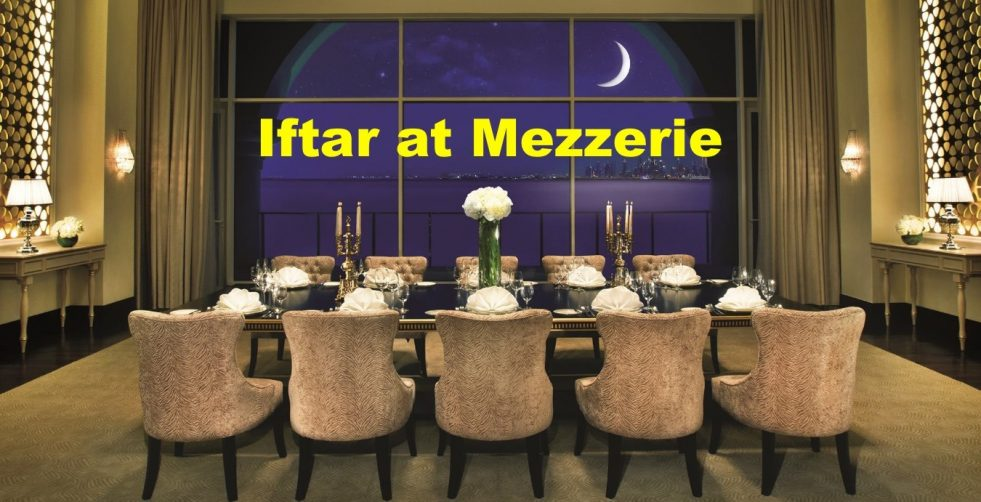 Iftar at Mezzerie - Coming Soon in UAE, comingsoon.ae