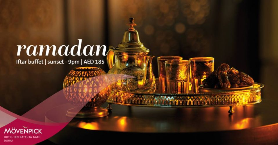 Iftar at Mövenpick Hotel Ibn Battuta Gate - Coming Soon in UAE, comingsoon.ae
