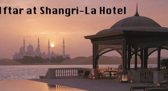 Iftar at Shangri-La Hotel - comingsoon.ae