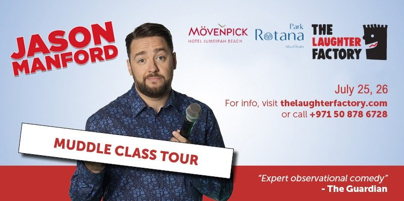 Jason Manford – Muddle Class Tour - Coming Soon in UAE, comingsoon.ae