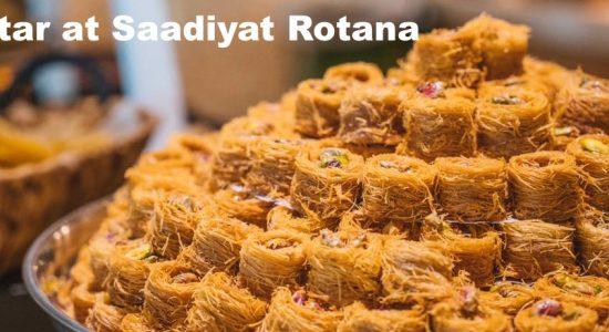 Iftar at Saadiyat Rotana - comingsoon.ae