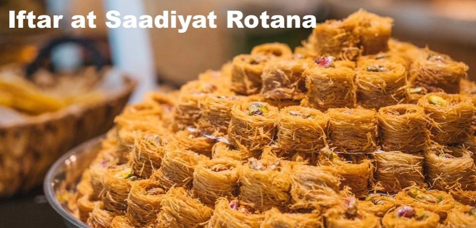 Iftar at Saadiyat Rotana - Coming Soon in UAE, comingsoon.ae