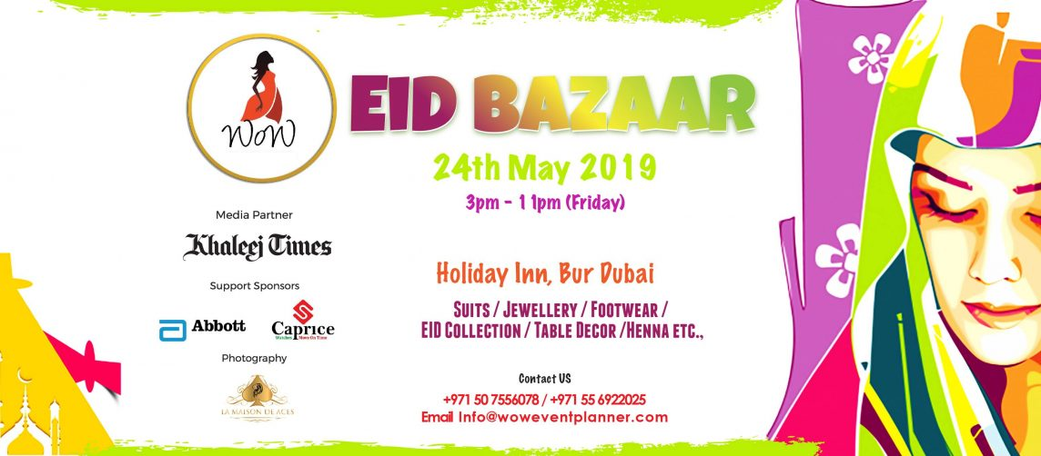 WoW Eid Bazaar 2019 - Coming Soon in UAE, comingsoon.ae