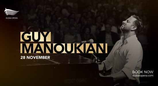 Guy Manoukian piano concert at Dubai Opera - comingsoon.ae