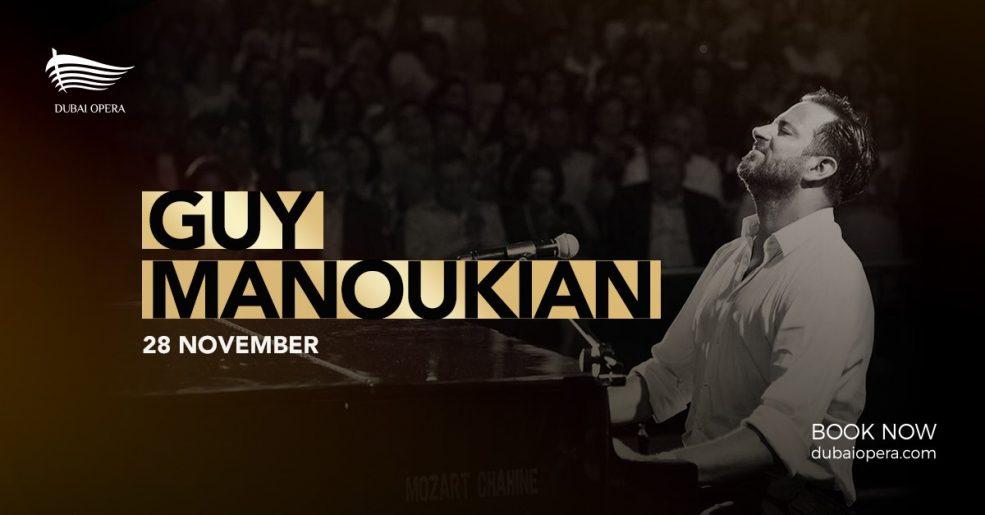 Guy Manoukian piano concert at Dubai Opera - Coming Soon in UAE, comingsoon.ae