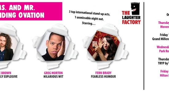 The Laughter Factory: Ms. & Mr Standing Ovation Tour - comingsoon.ae