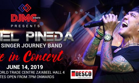 Arnel Pineda Concert at the Dubai World Trade Centre - Coming Soon in UAE, comingsoon.ae