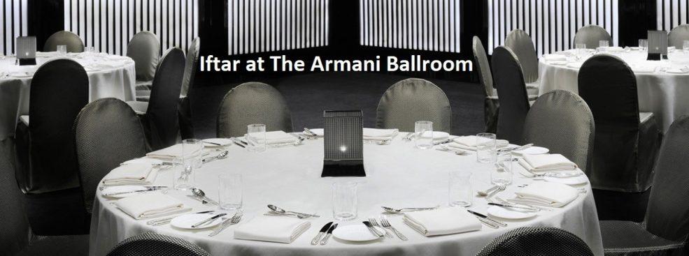 Iftar at The Armani Ballroom - Coming Soon in UAE, comingsoon.ae