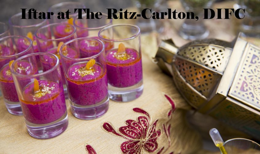 Iftar at The Ritz-Carlton, DIFC - Coming Soon in UAE, comingsoon.ae