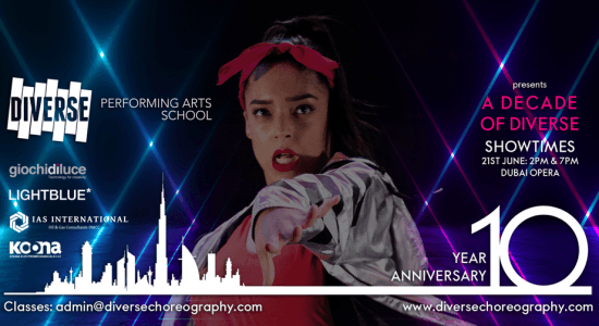 A Decade of Diverse: dance and musical theatre variety show - comingsoon.ae
