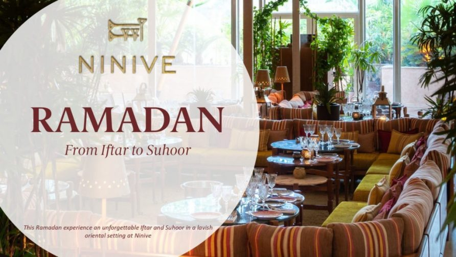 Iftar at Ninive - Coming Soon in UAE, comingsoon.ae