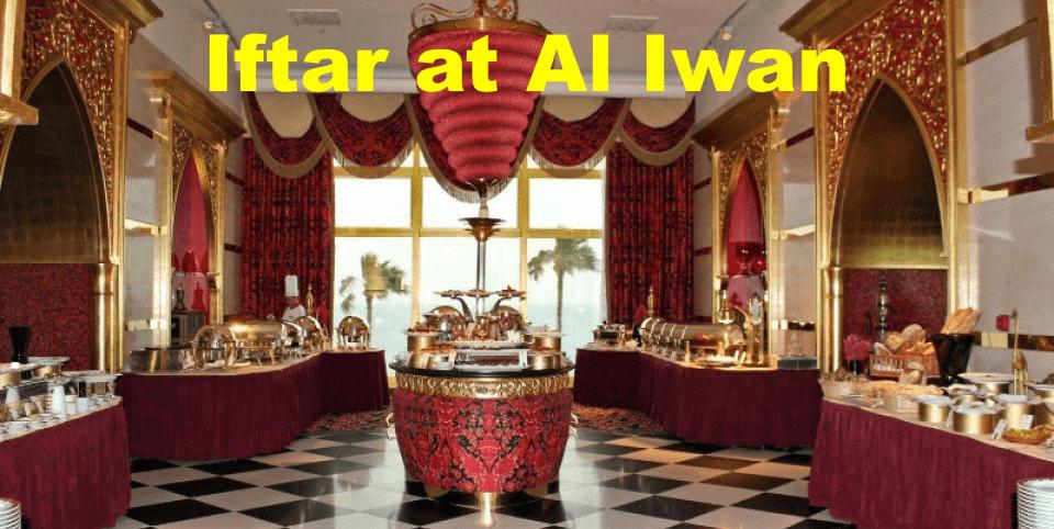 Iftar at Al Iwan - Coming Soon in UAE, comingsoon.ae
