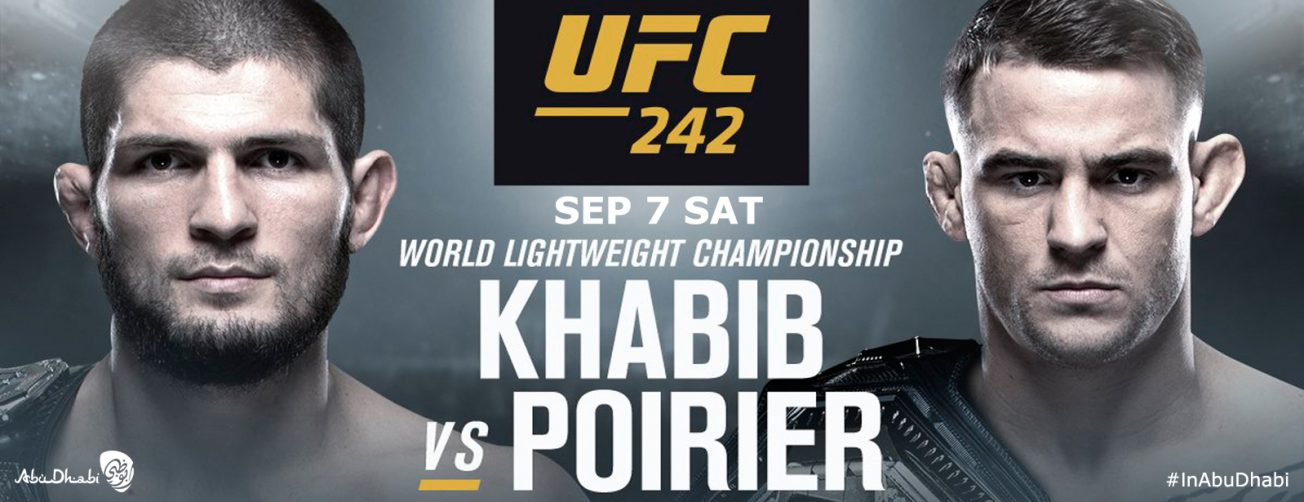 UFC 242 mixed martial arts event - Coming Soon in UAE, comingsoon.ae