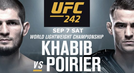 UFC 242 mixed martial arts event - comingsoon.ae
