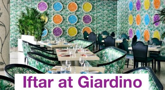 Iftar at Giardino - comingsoon.ae