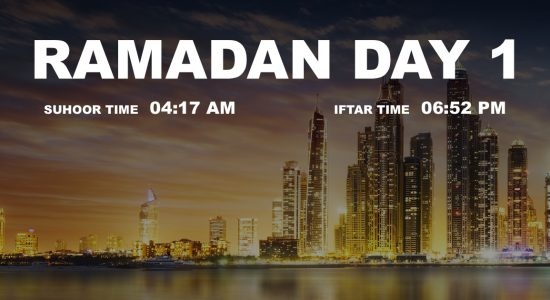 Holy month of Ramadan, Day 1 - comingsoon.ae