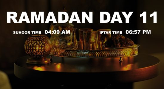 Holy month of Ramadan, Day 11 - comingsoon.ae