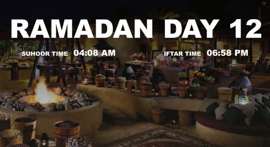 Holy month of Ramadan, Day 12 - comingsoon.ae