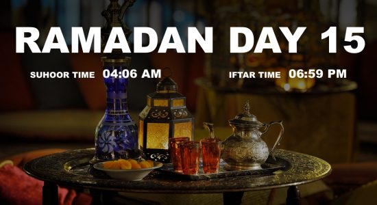 Holy month of Ramadan, Day 15 - comingsoon.ae