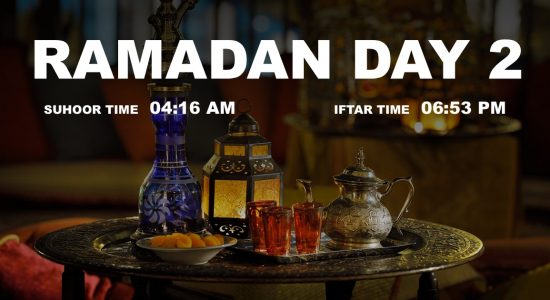 Holy month of Ramadan, Day 2 - comingsoon.ae
