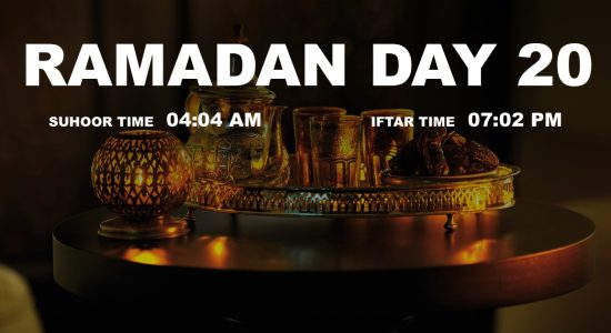 Holy month of Ramadan, Day 20 - comingsoon.ae