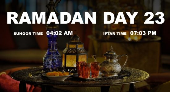 Holy month of Ramadan, Day 23 - comingsoon.ae