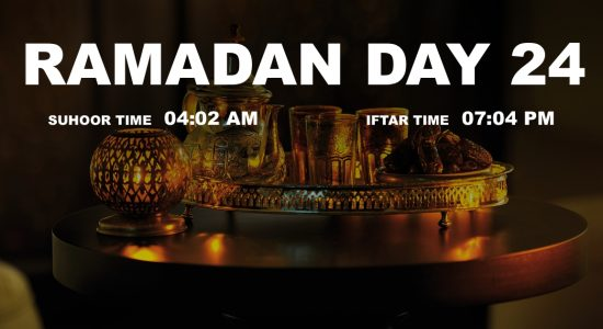 Holy month of Ramadan, Day 24 - comingsoon.ae